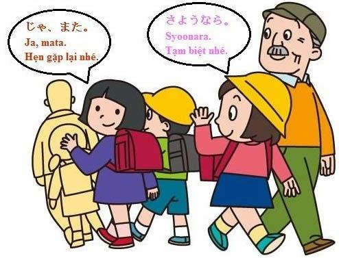 Câu giao tiếp bằng tiếng Nhật
